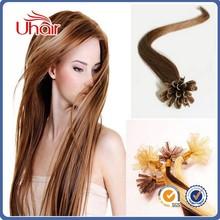 Prebonded Hair Double Drawn Human Hair U tip/Flat tip/I tip Hair Extensions Wholesale Italian Keratin Flat Tip Hair Extension