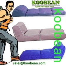 EXTRA LONG Foldable outdoor bean bag, lazy beanbag sofa chair,outdoor green long foldable beanbag bed