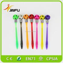 Colorful football LOGO custom promotional pen for fans