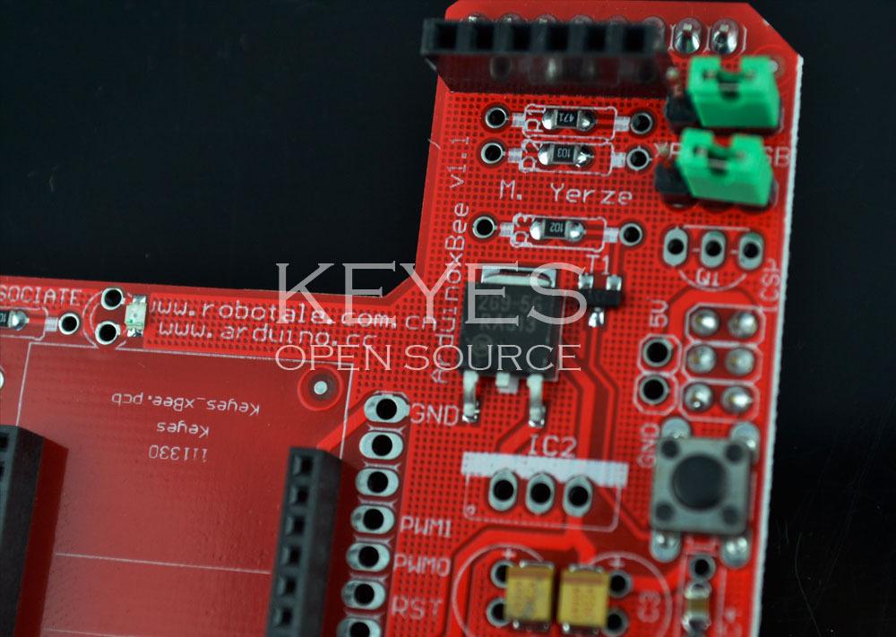 XBee Zigbee Shield RF module wireless expansion board (red), View ...