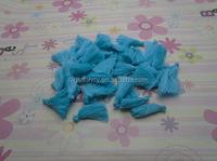 100pcs 30mm blue color Silk/Satin Tassels charms pendant, Ideal Accessories for DIY ,Handmade Tassel for DIY
