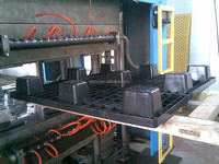 Municipal construction large plastic pipe fittings making machine