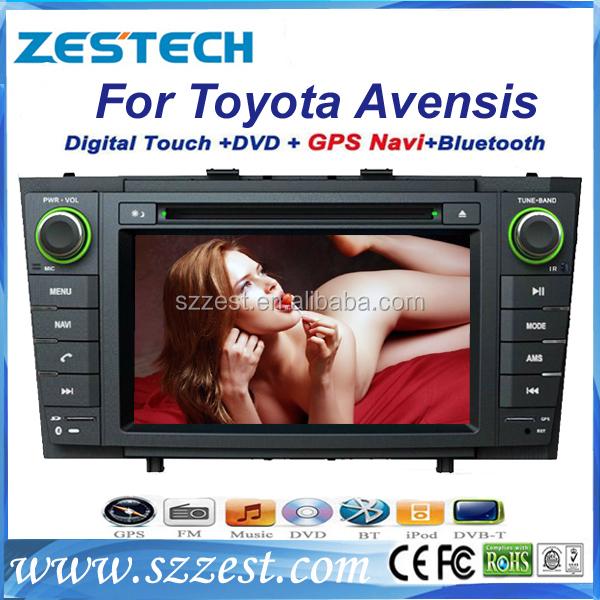 Oto ses sistemi gps toyota avensis 2009-2013 oto ses navigasyon sistemi multimedya oynatıcı ile