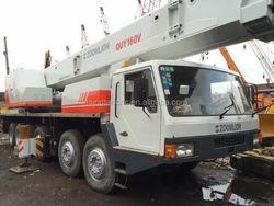 Used ZOOMLION 160ton lifting/hydraulic truck/mobile crane, original China made 160ton truck crane