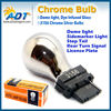 Amber Color auto car accessories 3156 P27W Chrome Bulb