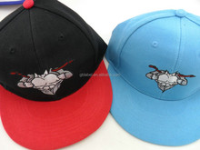 custom embroidered cool snapback men caps for sale
