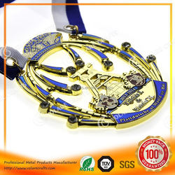 Fast Delivery creative golf/football/bsketball/bademiton medals