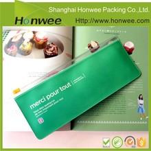 high quality custom design pvc plastic pen case