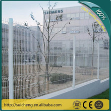 Guangzhou factory beautiful welded wire mesh home fence/residential fence hot sale