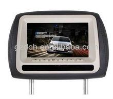 7 inch headrest car dvd player zipper cover optional WS-1005