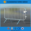 Galvanized or pvc coated used crowd control barrier