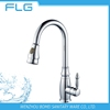 Luxury Lead Free Pull Out Spray Kitchen Faucet Mixer Bib Cock FLG8676 For Household and Restaurant