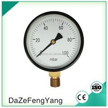 100mm capsule hydraulic pressure gauges manufacturer