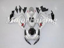 Sliver White Black Fairing Kit Suzuki GSXR600/750 06-07 K6 Body Fairing For Motorcycle