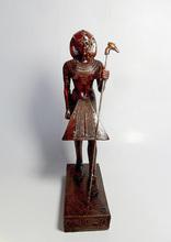 Rey tut ankh estatua de amón, la escultura, de combate
