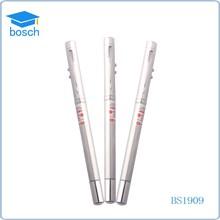 Metal laser pen in box China factory OEM laser engrave logo imprint laser roller pen for teaching