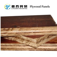 (A5) Cheap Price Pine Faced Eucalytus Core Hardwood Wood Boards For India, Philippines Constructions Plywood Wholesale