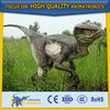 Playground Artificial Fiberglass Static Dinosaur Statue Model