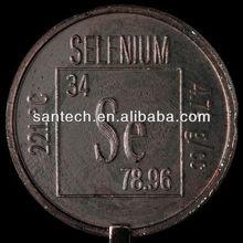 Suplemento de selenio, el selenio 5n lingote en polvo