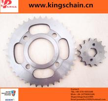 recambios de la motocicleta de china 520 bici de la suciedad de las cadenas y ruedas dentadas