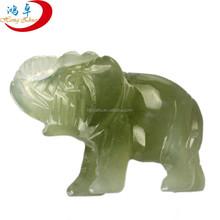 New jade Carved Elephant/elephant sculpture