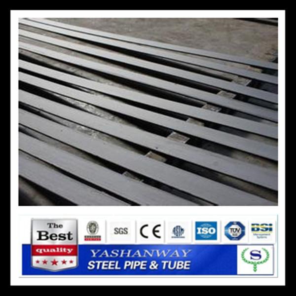 バネ鋼、 フラットバーysw5160亜鉛めっきされたフラットバー