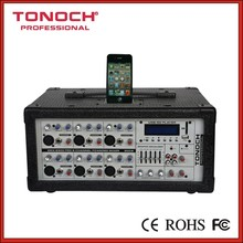 0 risk! 10 Years Manufacture Experience Factory Supply 6 channel Professional audio mixers