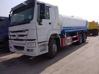 Sinotruk HOWO 6x4 20000-30000 Liters sprinkler water tender trucks for sale water trucks