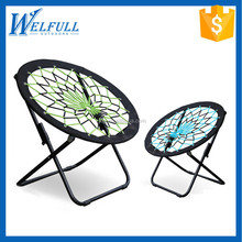 Wholesale Outdoor 600D Oxford Adult Beach Camping Folding Round Chair