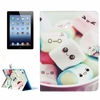 In Stock flip leather smart case for ipad 4 with great price