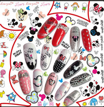 (11 DESIGNS IN 1) BLE CHINA WATER DECAL NAIL ART sticker Series NAIL ART WATER STICKER DECAL NAIL (BLE ALL OSTYLES 2522DESINS)