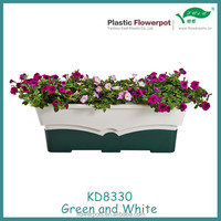 KD8330 Plastic self-watering window planters