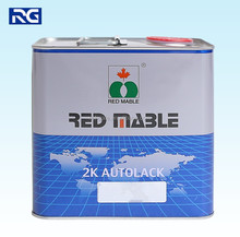 Auto Car Paint RED MABLE Hardener