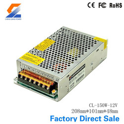 80w 12V dc led power supply manufacturer factory price