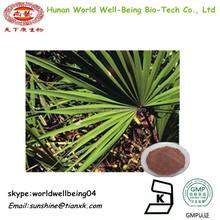 Saw palmetto fruit P.E10 1 /Fatty Acids Saw Palmetto Extract /sabal extract Powder