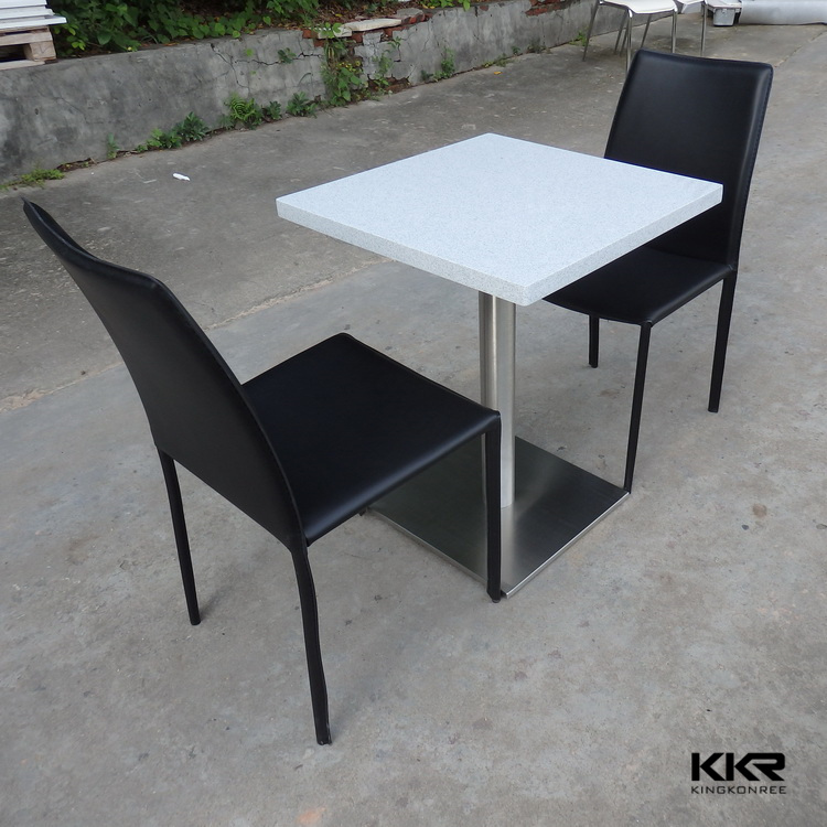 Solid Granite Top Coffee Table: New Restaurant Solid Surface Stone Modern Coffee Dining