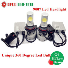 Factory Direct 9007 Led Headlight, 360 Degree Hi/Low Beam 9007 Led Headlight