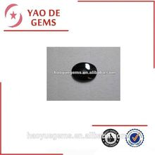 Black Oval Flat Drilling Loose Precious Cubic Zirconia Stone/Synthetic Cubic Zirconia Wholesale