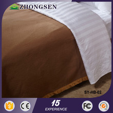 100% Polyester quilted down alternative comforter and blanket