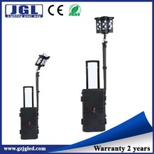 led industrial light portable lighting tower high power search light cree 120w led