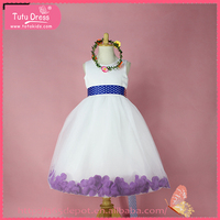 Ball gown girl dresses purple, pakistan girl dresses, party dresses for 1-9 year old girl