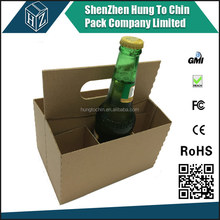 Bio-degradable good quality paper box for leathe wine carrier