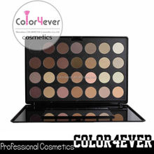 Cosmetics Professional 28 Colors Neutral Nude Eyeshadow Makeup Palette china red shadow