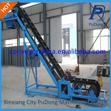 China professional belt conveyor rise and fall