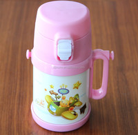 Hot sell 500ml 350ml stainless steel insulated vacuum hot water bottle for kids