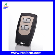 Auto barriere with remote control,rf 4 buttons plastic transmitter case CY005