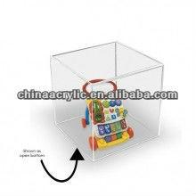 clear plexiglass box for holding pen,model car,etc