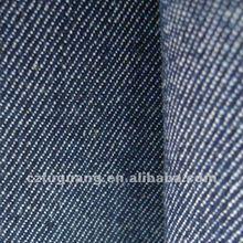 7OZ cotton twill 3/1 fabric Indigo denim