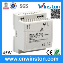 Hot selling Trade Assurance DR-45-12 45W 12V 3.5A Din Rail AC DC power supply