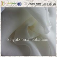 White custom new design cheap pure chiffon fabric